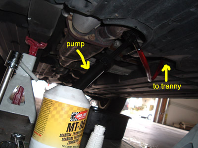 Lexus IS 300 Manual Transmission Fluid Change